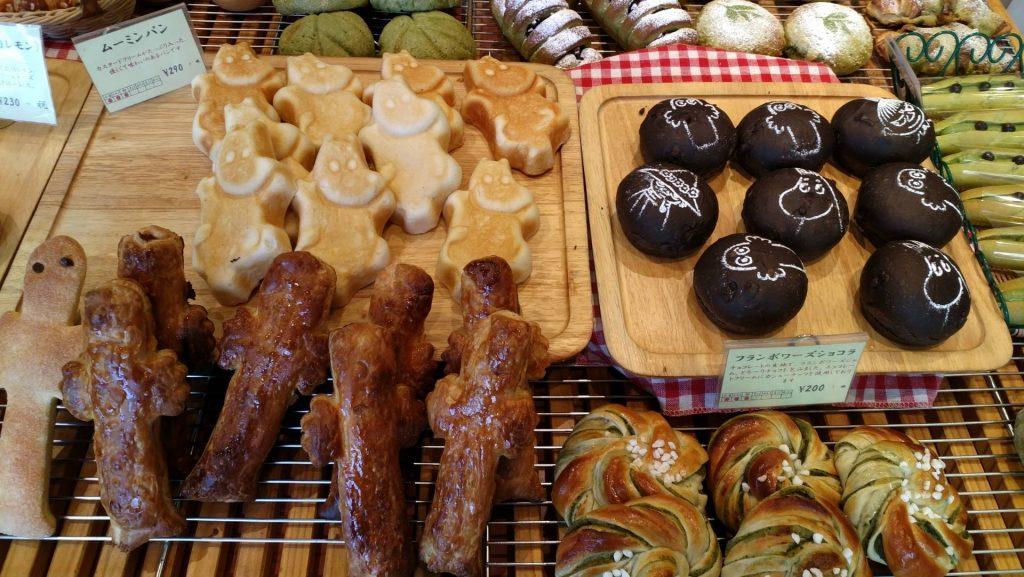 Moomin Bakery & Cafe tokio japonia muminki tax free tokio