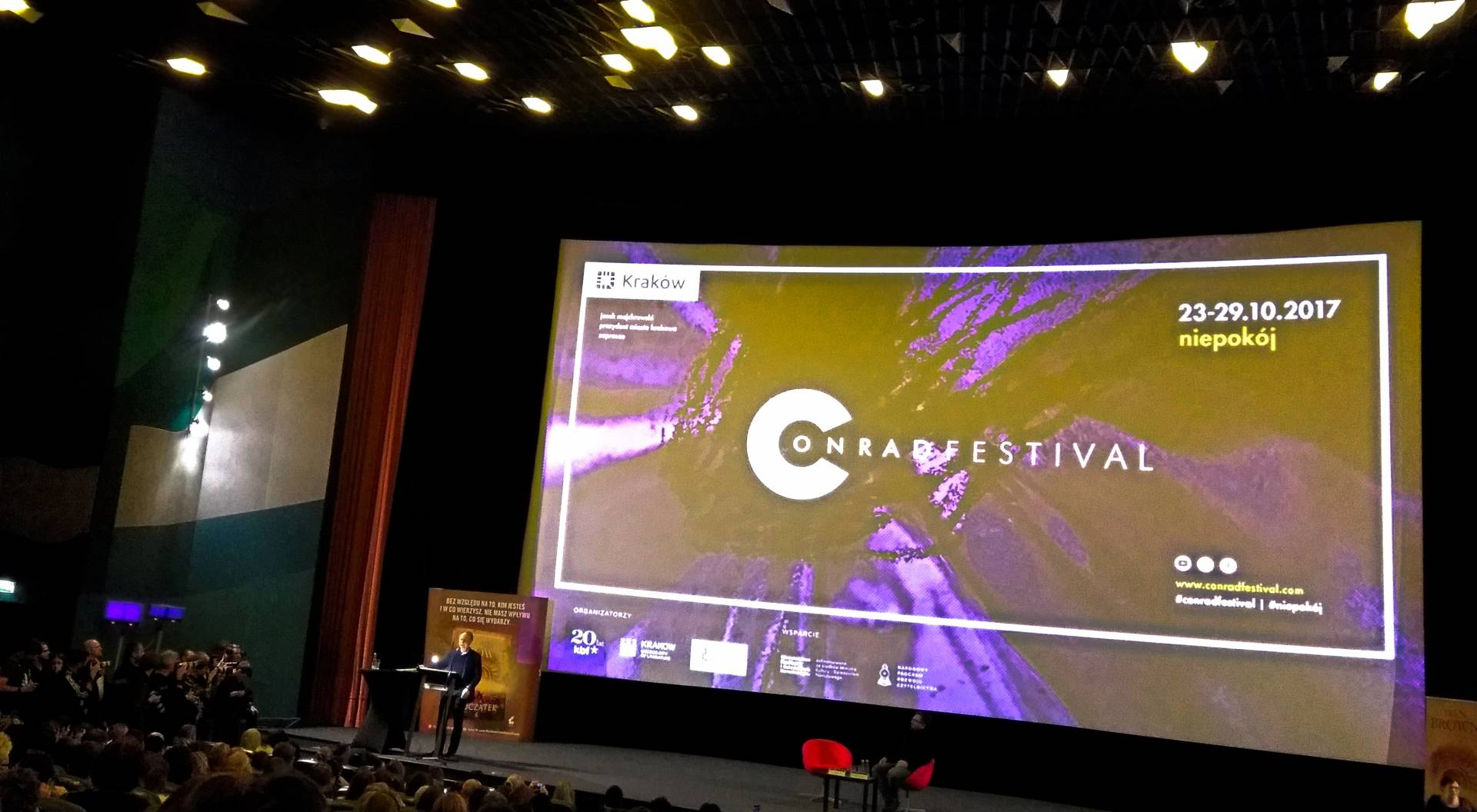 Festiwal Conrada 2017 i Targi Książki Kraków 2017 | RELACJA