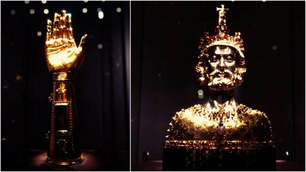 Aachen Akwizgran atrakcje zwiedzanie zwiedzać Karol Wielki skarbiec katedra