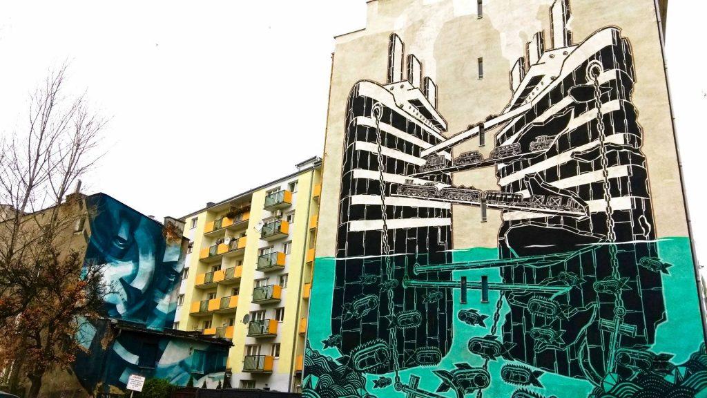 Gdynia mural street art