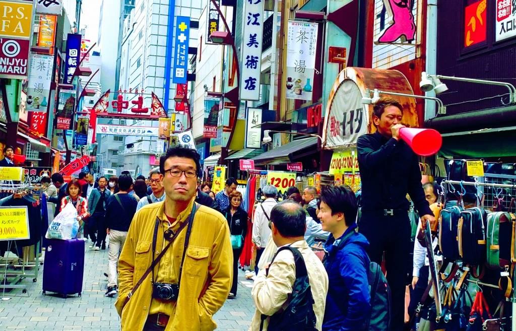 Tokio atrakcje dla foodies Ueno Ameyoko