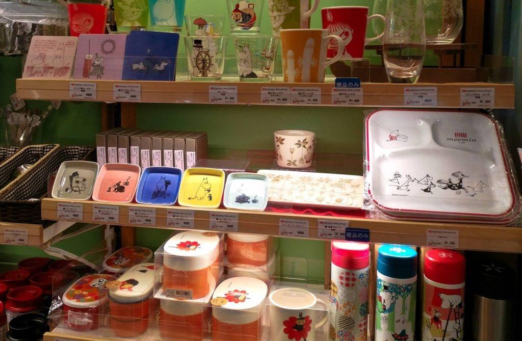 Tokio atrakcje moomin muminki kawiarnia