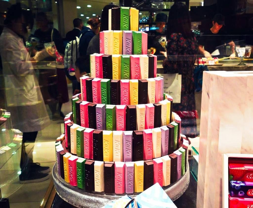 Tokio atrakcje dla foodies Kit Kat