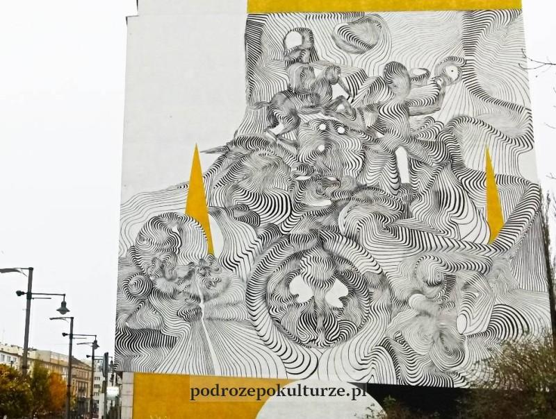 murale w Gdyni