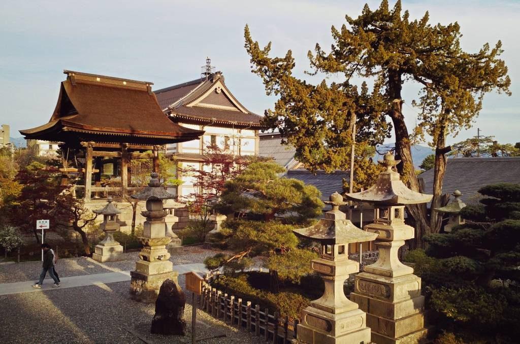 Zenkoji Zenko-ji Zenko ji świątynia buddyjska Nagano