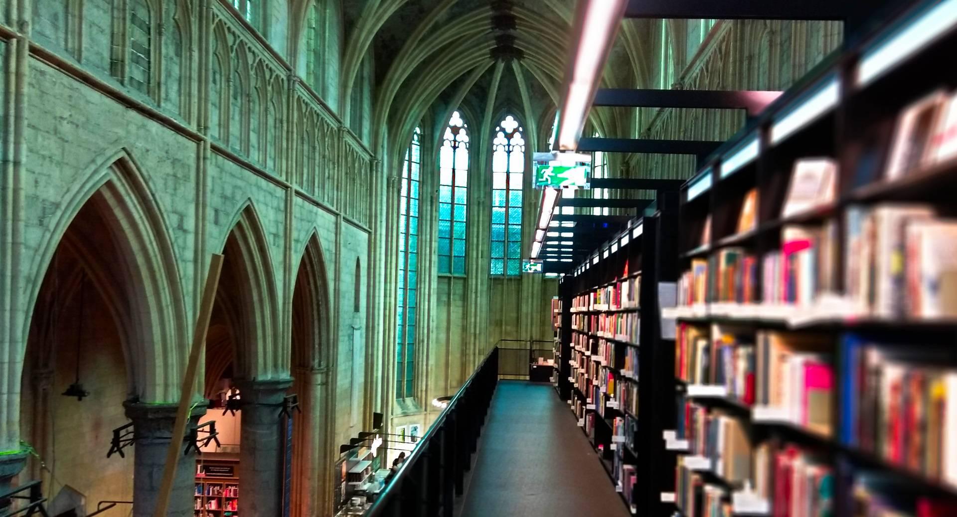 Kościół pełen książek | Najpiękniejsza księgarnia na świecie jest w Maastricht