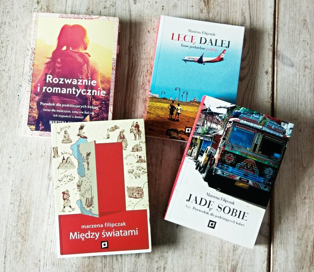 Książki Marzeny Filipczak