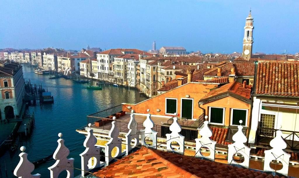 Wenecja weekend w Wenecji tanie noclegi jedzenie restauracje Włochy canale grande