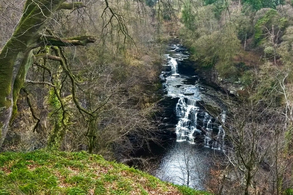 New Lanark Falls of Clyde