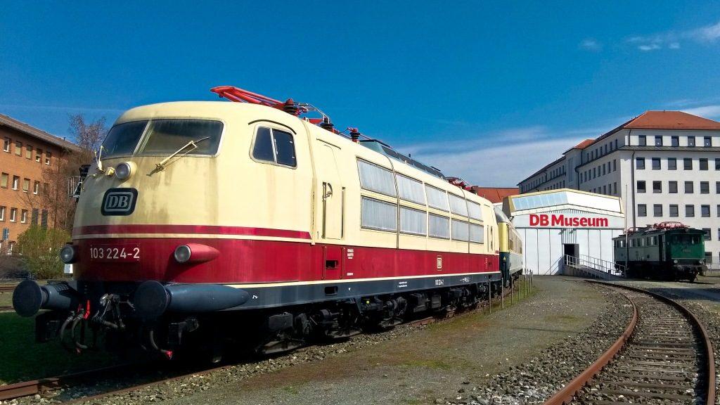 DB Museum Norymberga pociągi, Deutsche Bahn, skansen kolejowy, muzeum transportu, makiety kolejowe, Niemcy, Bawaria