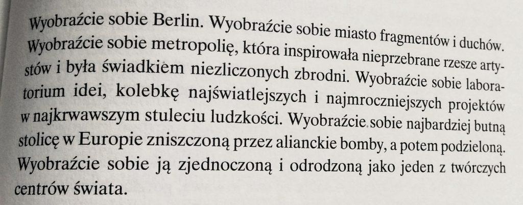 Książki o Berlinie, Berlin w literaturze