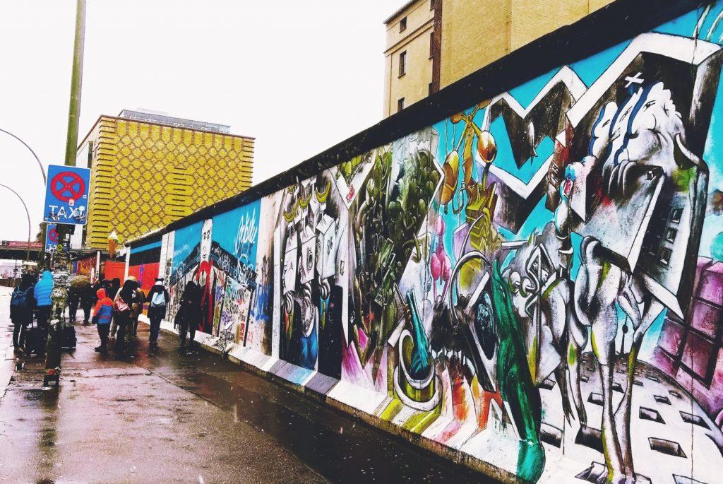 Murale w Berlinie