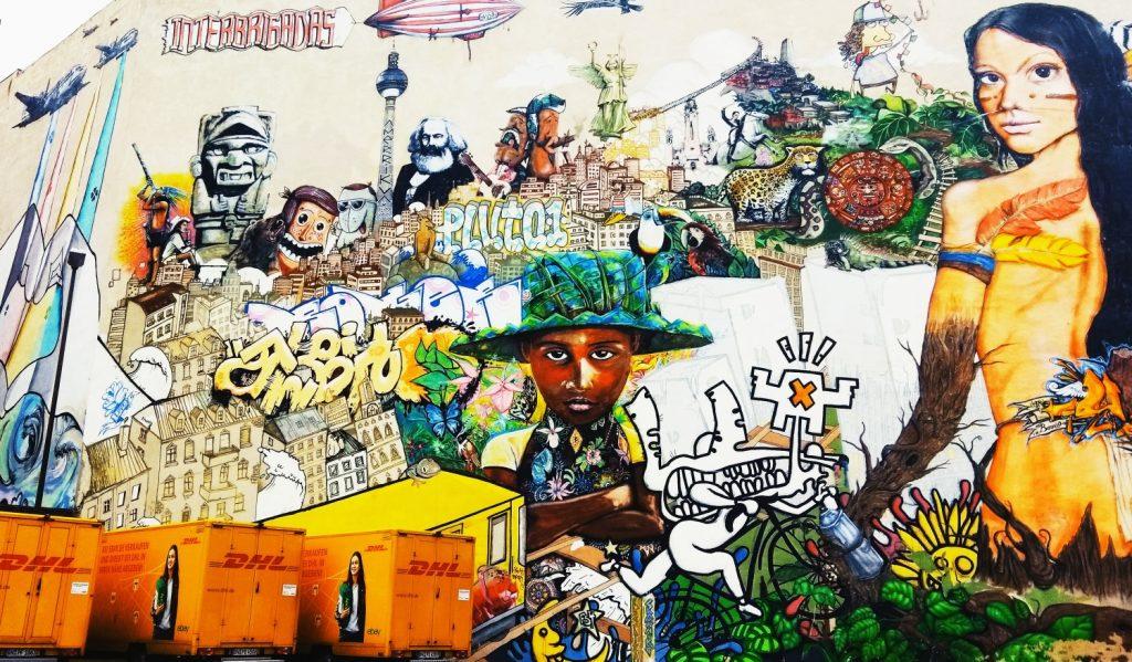 Street art w Berlinie