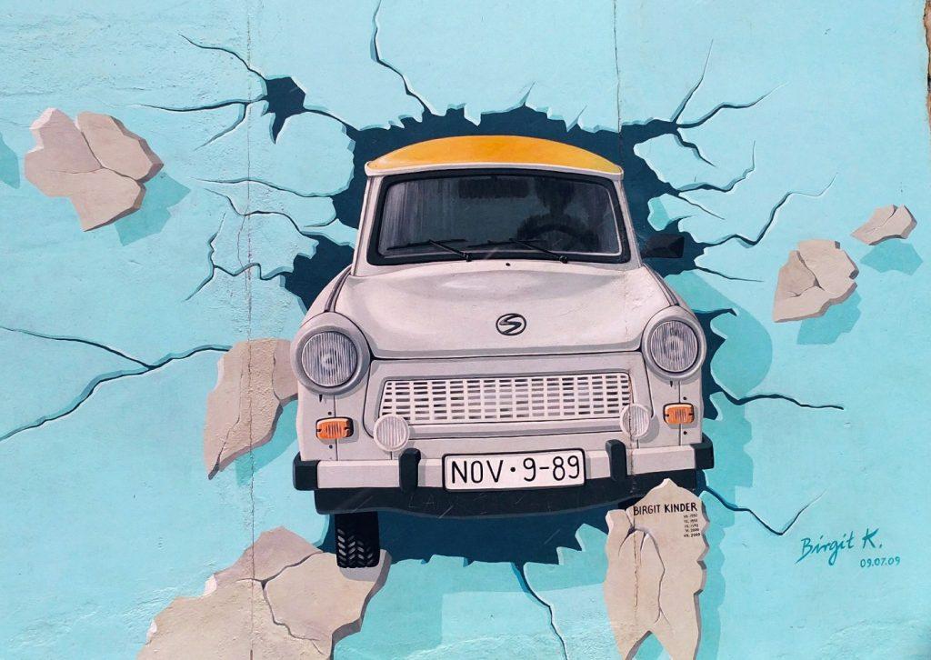 Street art w Berlinie. Murale Berlin