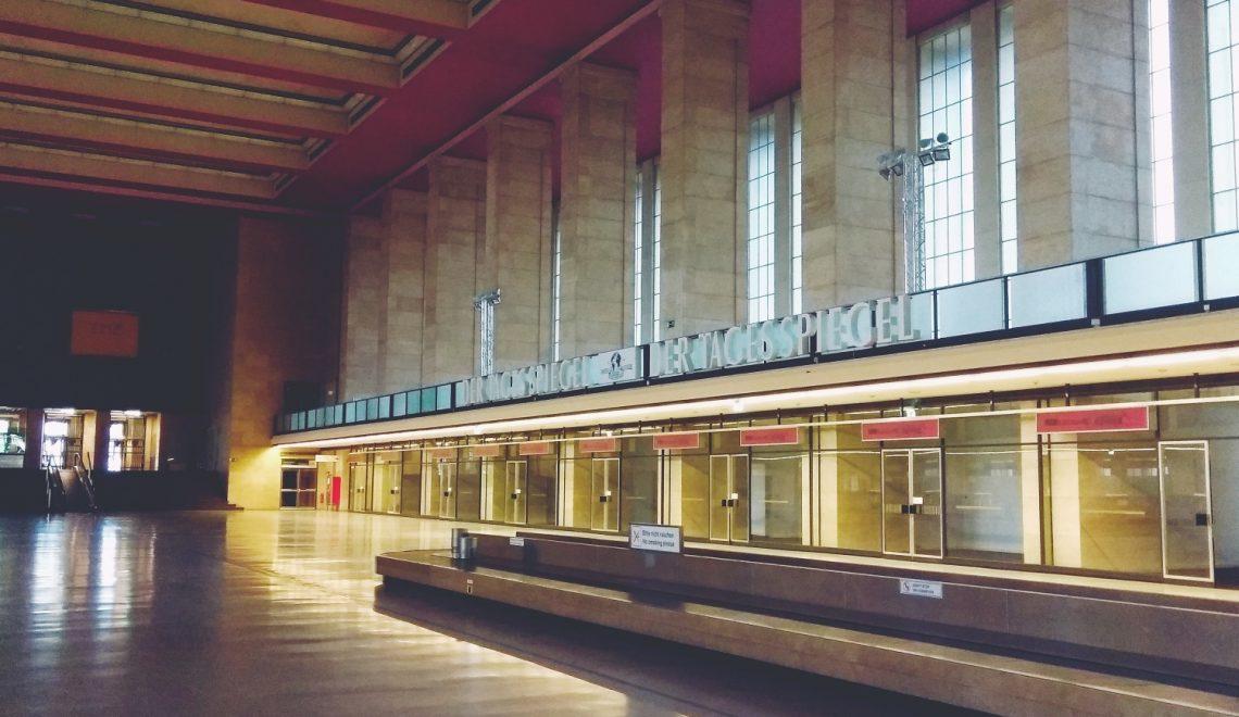 Tempelhof Berlin | Jak zwiedziłam opuszczone lotnisko (terminal! nie park)