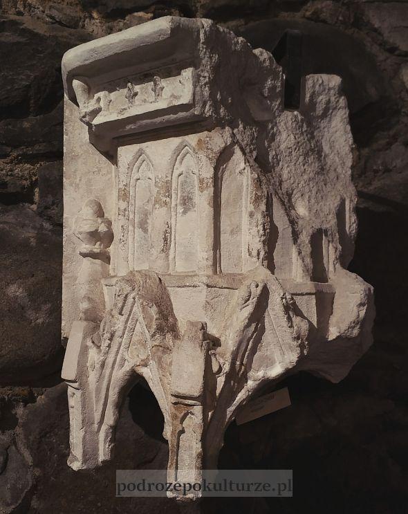 lapidarium na zamku w Brodnicy