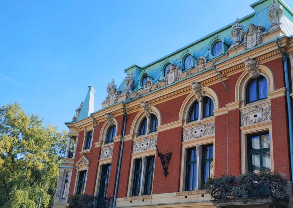 Atrakcje Sosnowca. Pałac Dietla w Sosnowcu