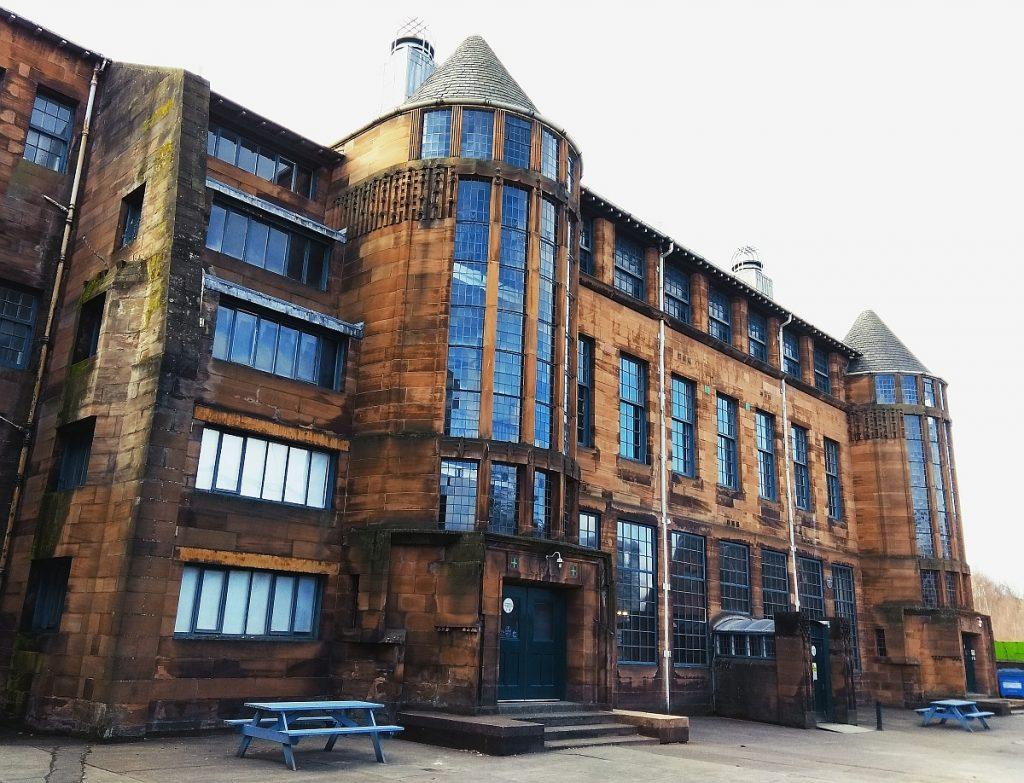 Charles Rennie Mackintosh w Glasgow. Szkocka secesja. Zwiedzanie Glasgow.