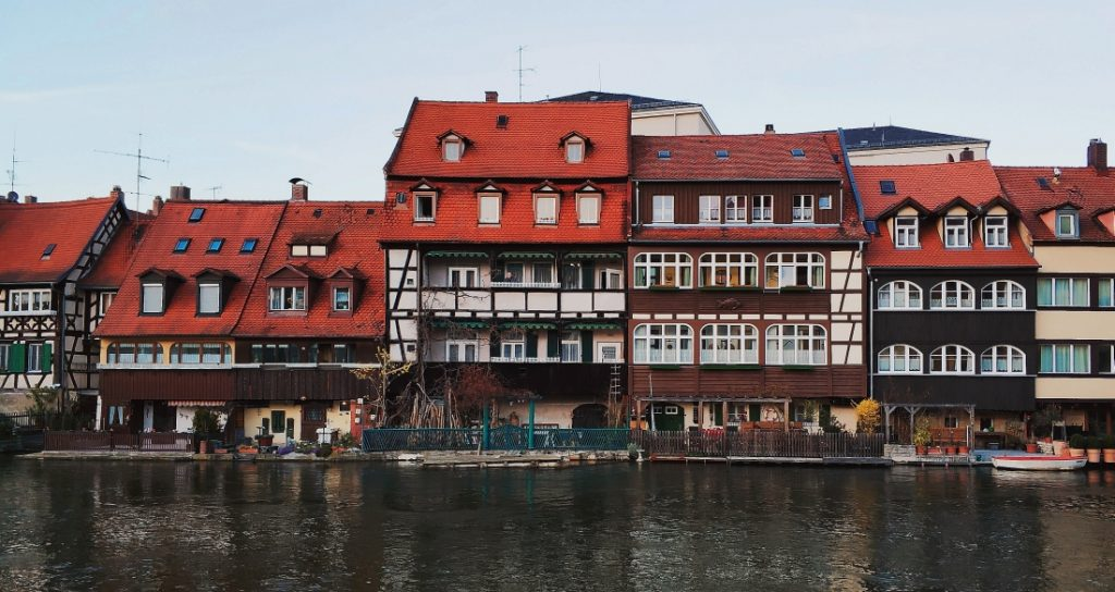 Klein Venedig. Mała Wenecja w Bambergu. Domy nad rzeką