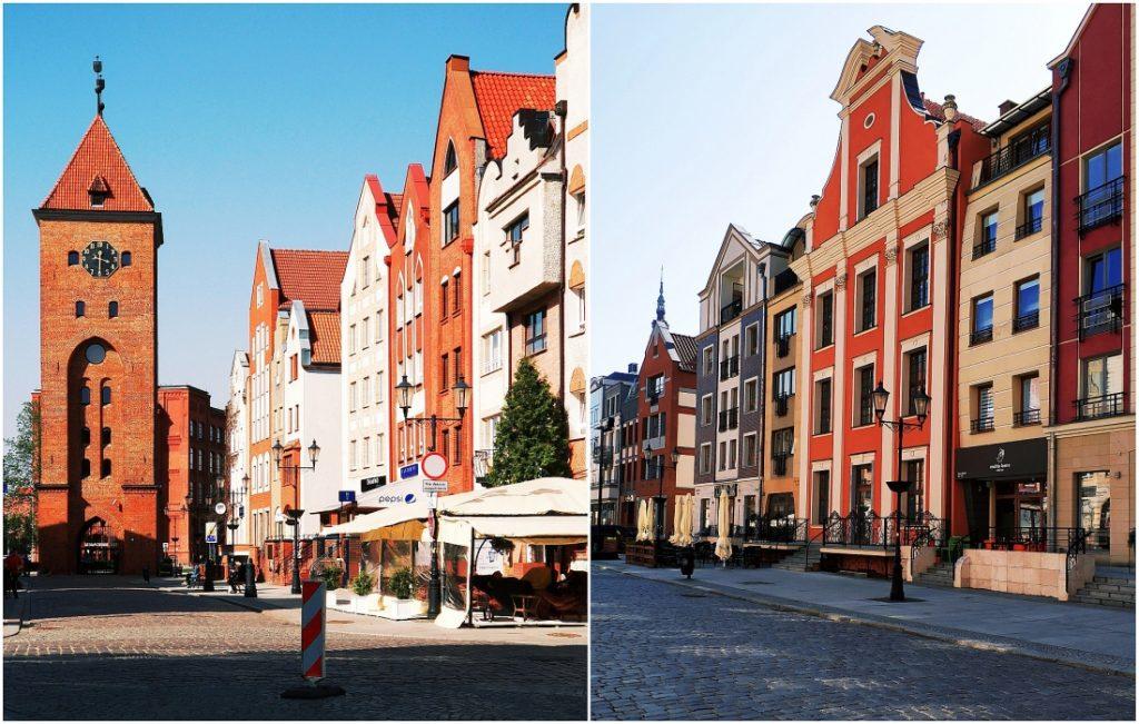 Stare miasto Elbląg. Atrakcje turystyczne Elbląga