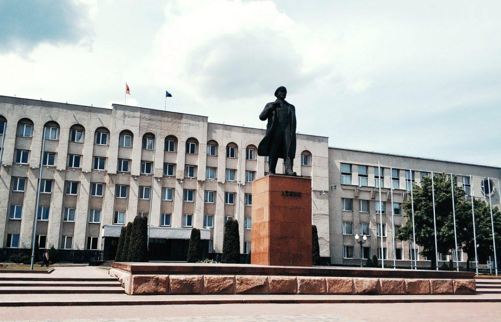 Grodno bez wizy. Pomnik Lenina