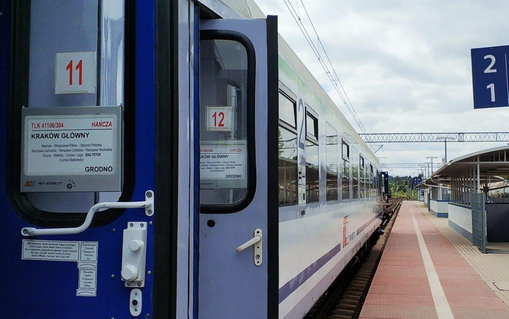 Grodno pociągiem bez wizy