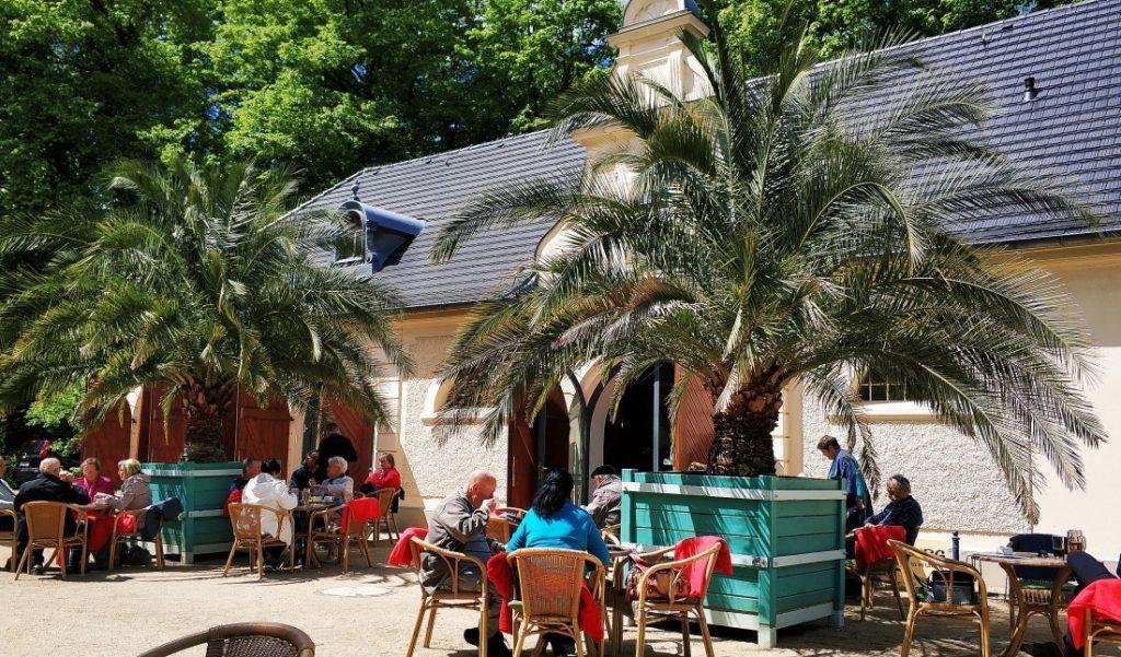 Park Mużakowowski. Cafe Verweg