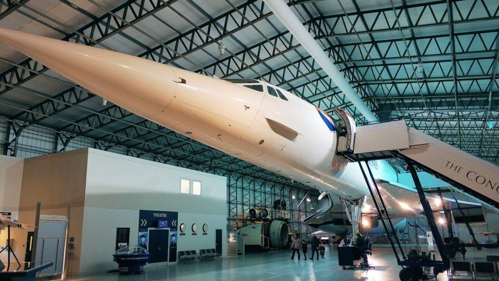 Concorde G-BOAA. Muzeum Lotnictwa w Szkocji. Atrakcje w okolicy Edynburga