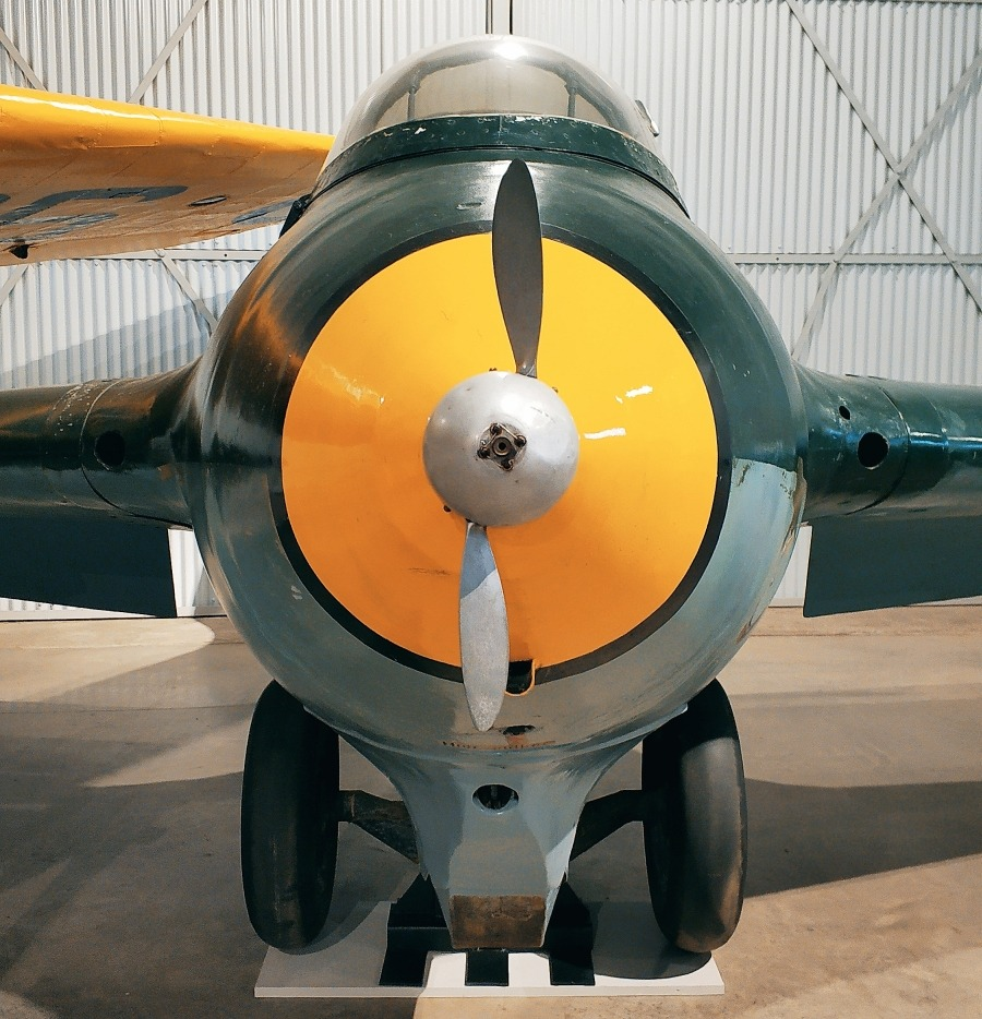 National Museum of Flight East Fortune. Szkocja. Narodowe Muzeum Lotnictwa