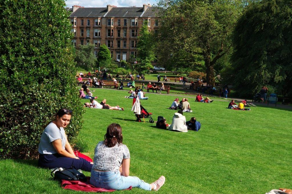Glasgow informacje praktyczne. Ogród botaniczny
