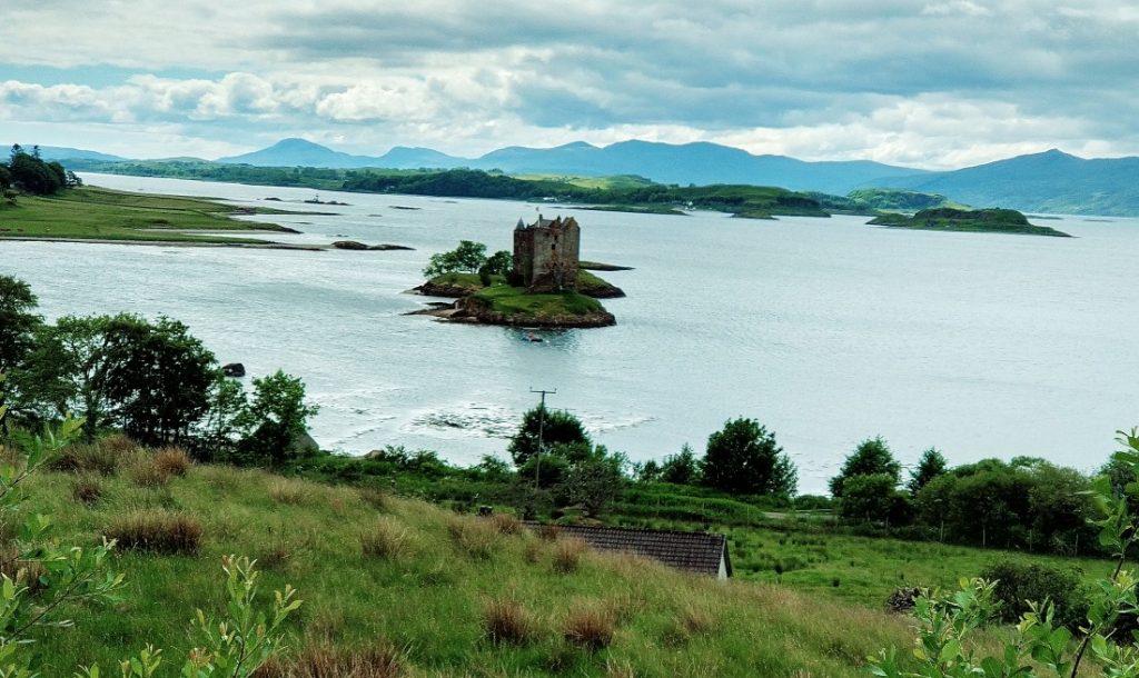 Castle Stalker Monty Python i święty Gral Highlands