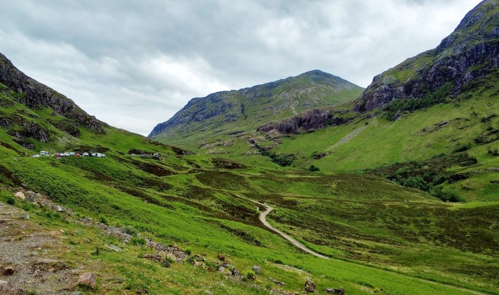 Glencoe Glen Coe Highlands Szkocja