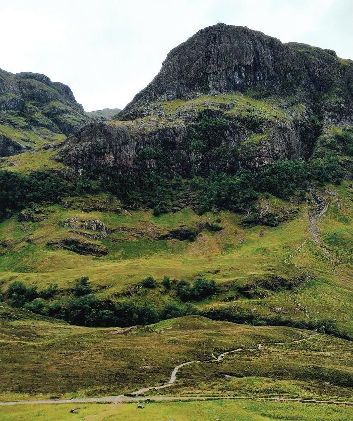 Trzy siostry Glencoe Glen Coe Highlands Szkocja