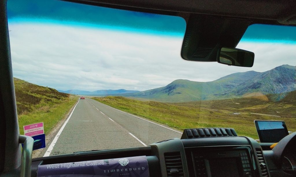 Highlands Glencoe Szkocja roadtrip A83