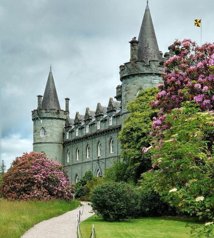Inveraray Castle zamek Szkocja zachodnia
