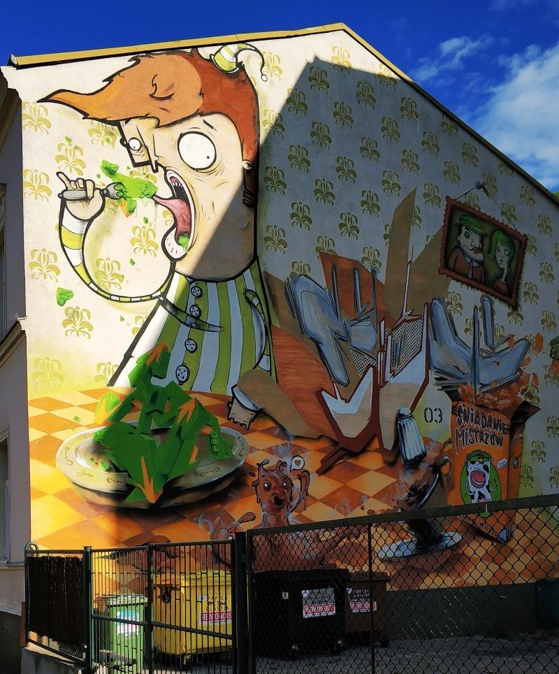 Street art Bydgoszcz. Murale w Bydgoszczy