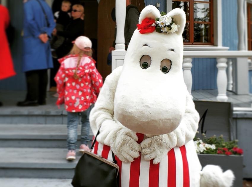 Świat Muminków w Finlandii. Mama Muminka