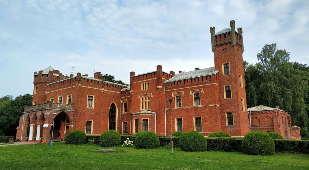 Zamek Karnity. Pojezierze Iławskie