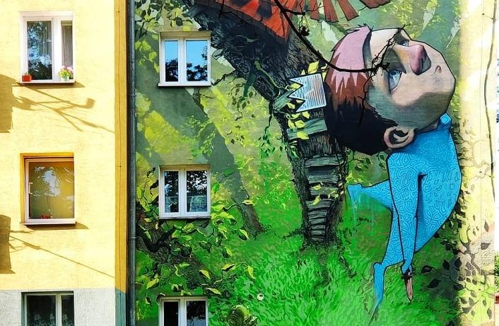 Bydgoszcz jak malowana! Spacer śladem murali i innego street artu