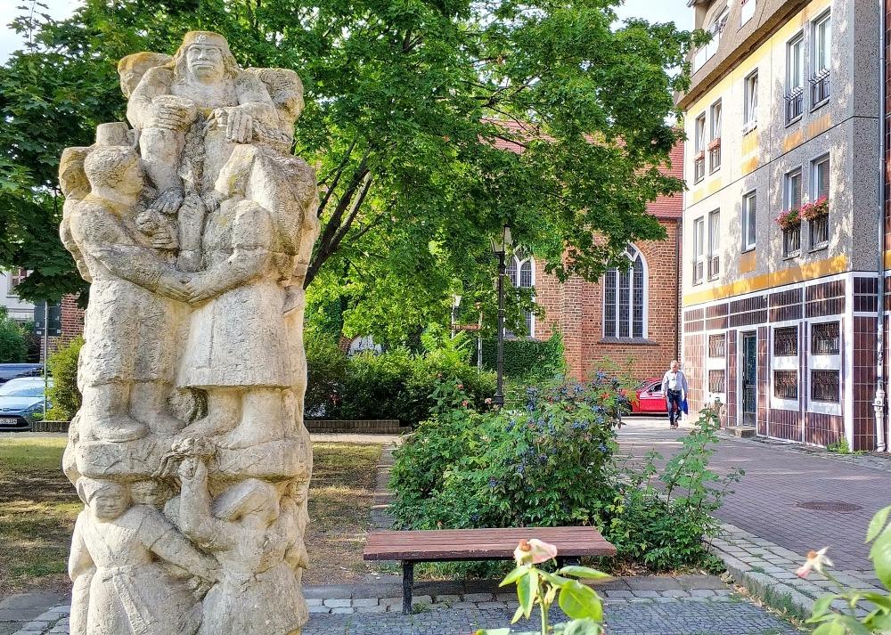 Cottbus. Pomnik łużyckiego wodnika