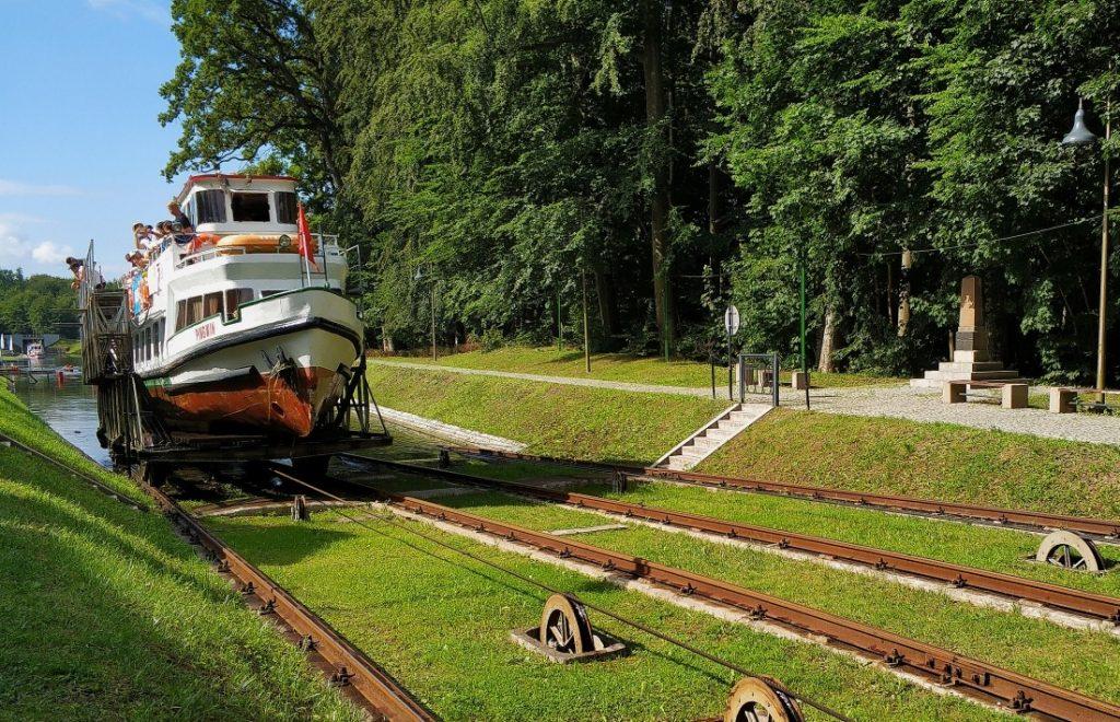 Kraina Kanału Elbląskiego pochylnia Buczyniec