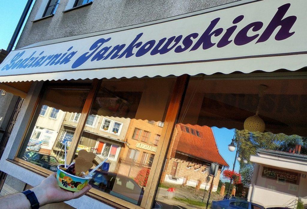 Lodziarnia Jankowskich w Pasłęku