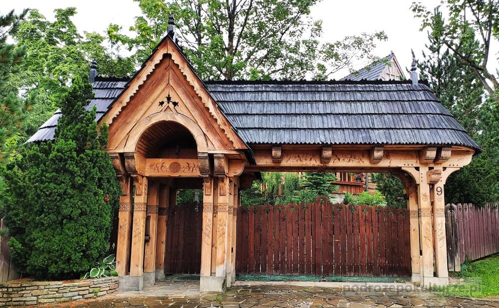 willa Witkiewiczówka na Antałówce w Zakopanem