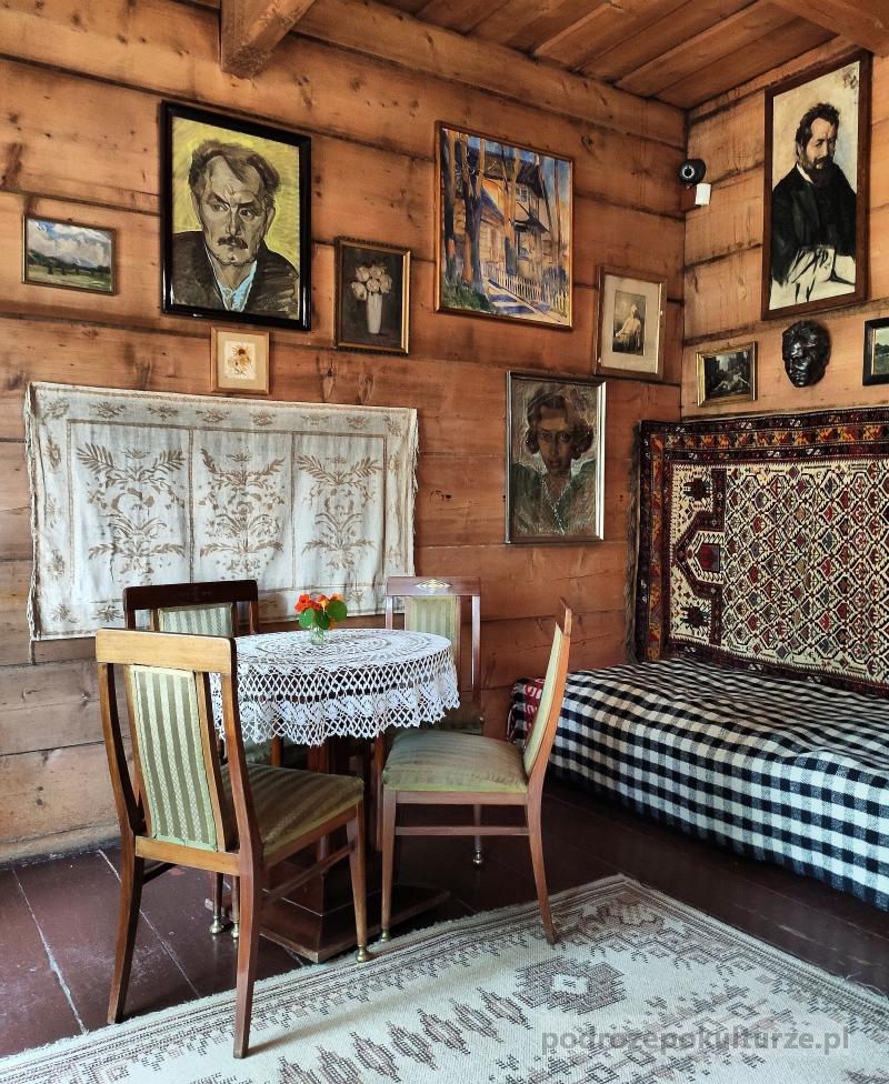 Muzeum Jana Kasprowicza w Zakopanem. Dom na Harendzie