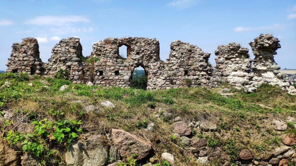 ruiny zamku w Kurzętniku