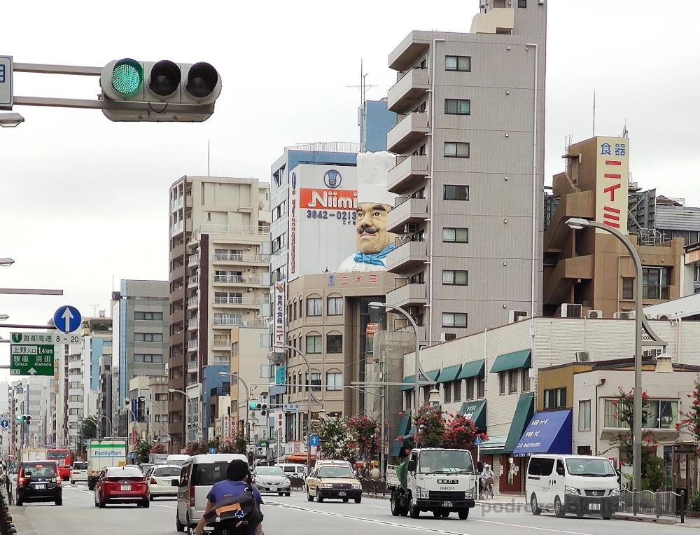 Kappabashi Dori w Tokio