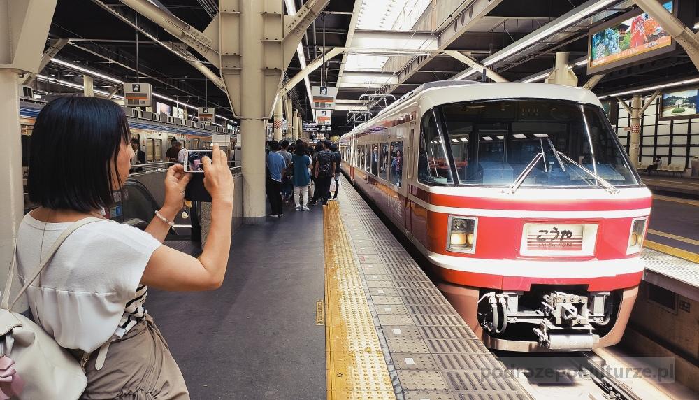 Japan Rail. Pociągi w Japonii