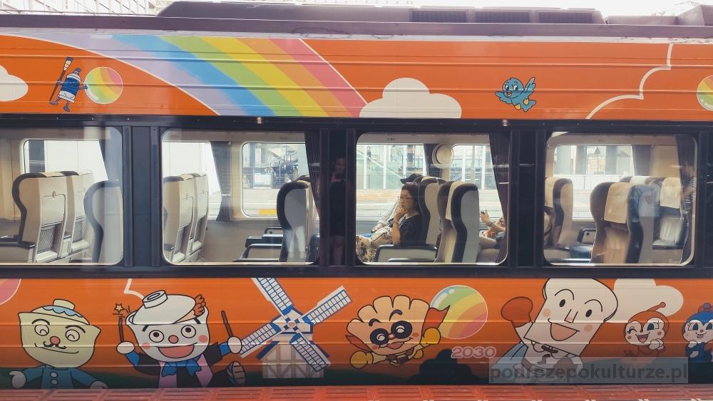 Pociągi w Japonii. Anpanman train