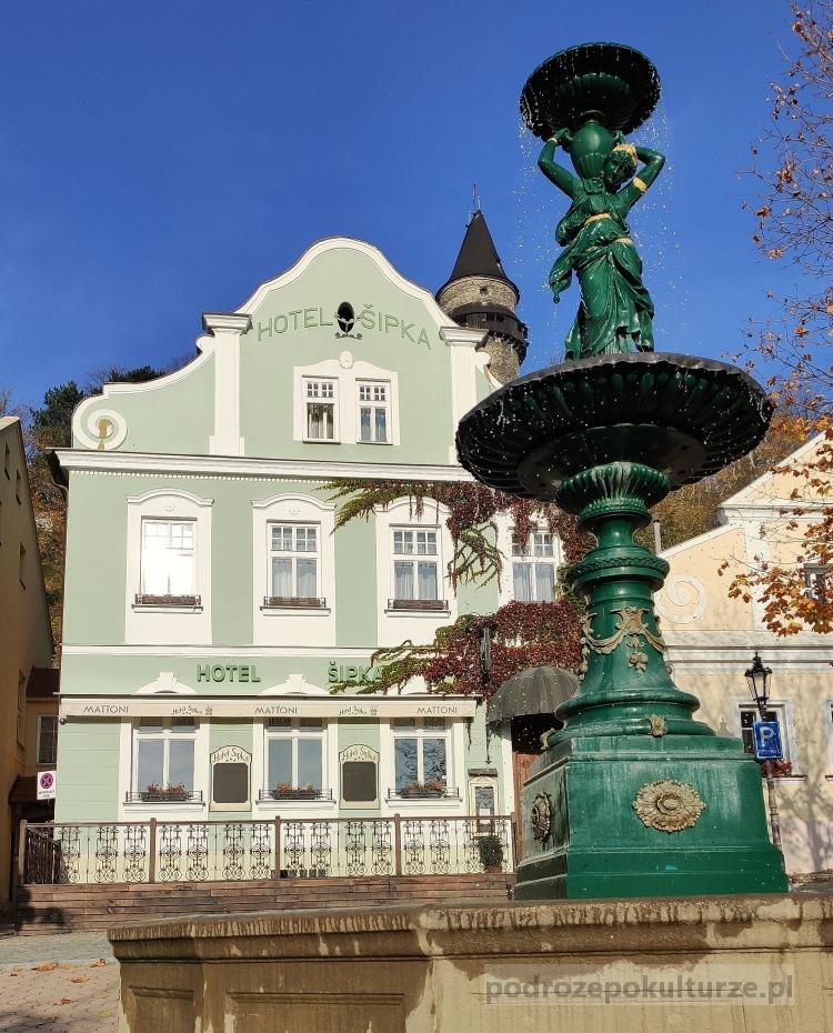 Štramberk Sztramberk fontanna
