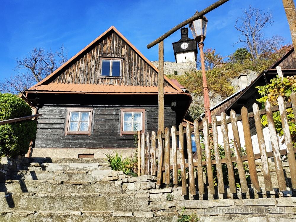 Štramberk Sztramberk architektura drewniana. Wołoskie chaty
